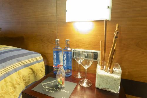 Drinks at Sercotel Palacio de Tudemir