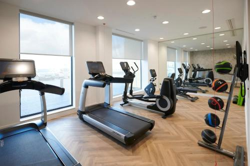 The fitness center and/or fitness facilities at Courtyard by Marriott Inverness Airport