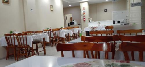 A restaurant or other place to eat at Hotel Ermitage