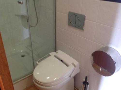 A bathroom at Vehí