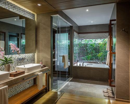 A bathroom at Four Seasons Resort Chiang Mai