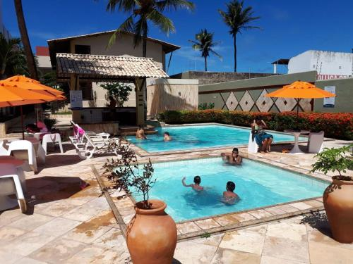 The swimming pool at or near Sol Praia Marina Hotel