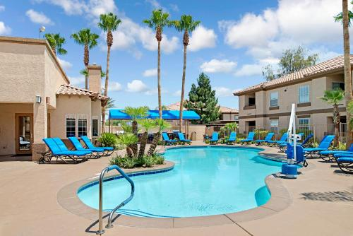 The swimming pool at or near Desert Paradise Resort By Diamond Resorts