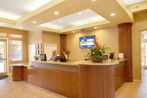 The lobby or reception area at Desert Paradise Resort By Diamond Resorts