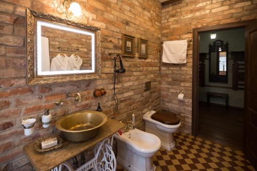 Ванная комната в Бутик- отель Империал