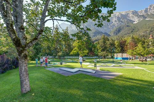 The swimming pool at or near Alpenhotel Speckbacher Hof