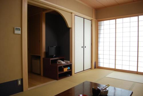 A television and/or entertainment center at Matsumoto Ryokan