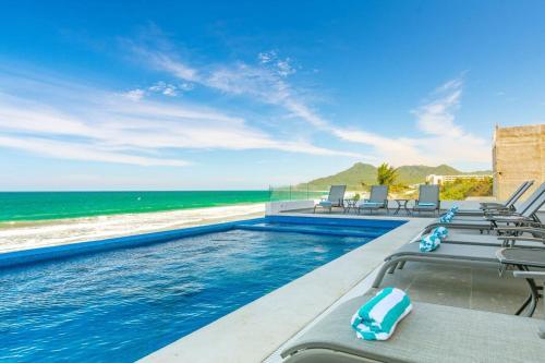 The swimming pool at or near Xiobella Boutique Hotel -Punta de Mita