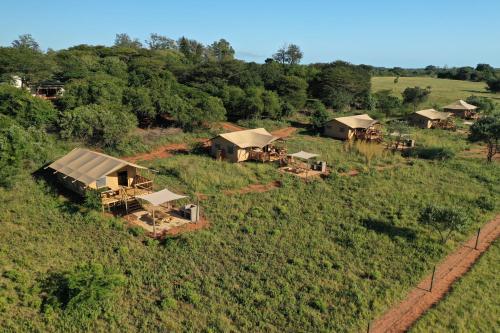 A bird's-eye view of Hluhluwe Bush Camp