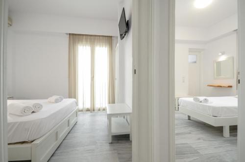A bathroom at Soula Hotel