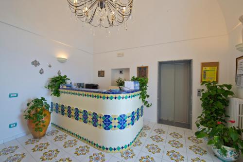 Hall o reception di Palazzo Talamo