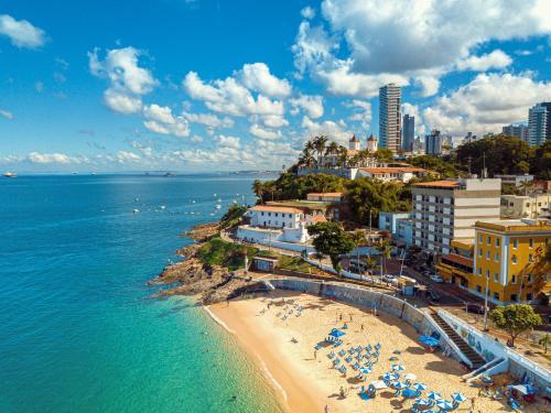 A bird's-eye view of Grande Hotel da Barra