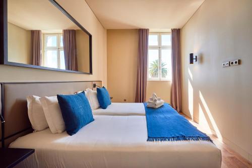 Cama o camas de una habitación en Lisbon Five Stars Apartments 8 Building