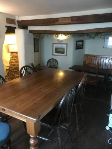 Dining area at the inn