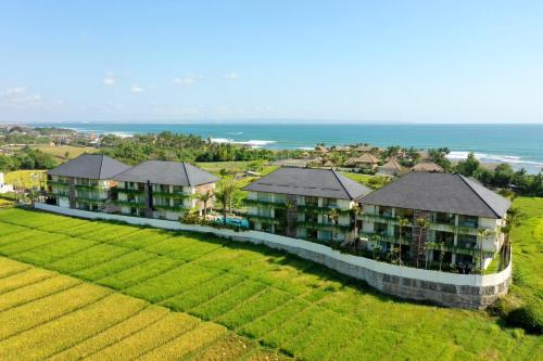 A bird's-eye view of The Double View Mansions Bali