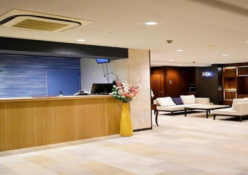 The lobby or reception area at Kawasaki Daiichi Hotel Musashi Shinjo / Vacation STAY 76576