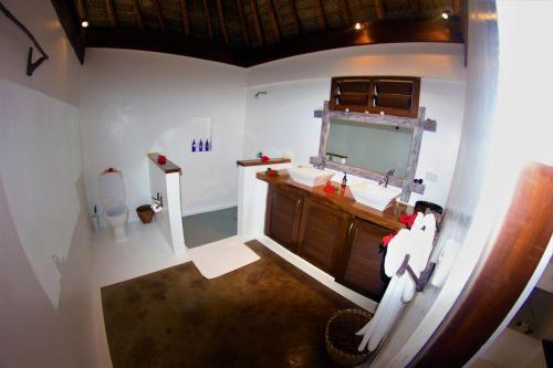 A kitchen or kitchenette at Navutu Stars Resort