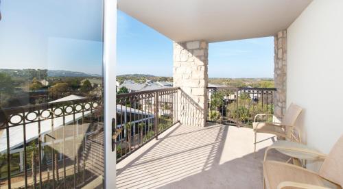 A balcony or terrace at Horseshoe Bay Resort