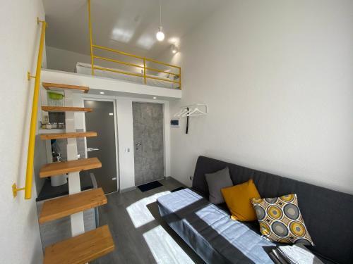Гостиная зона в Апартаменты Ожешко 34