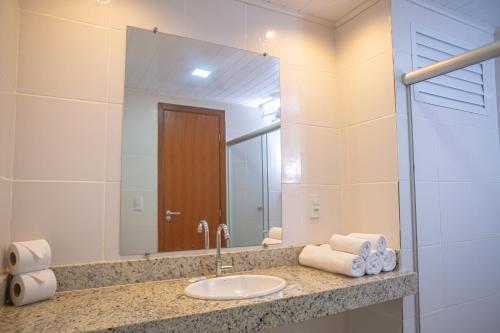 Um banheiro em Portobello Park Hotel