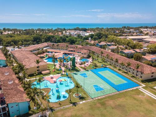 Uma vista aérea de Portobello Park Hotel