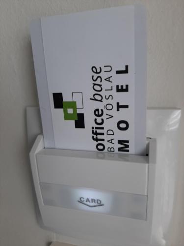 Grundriss der Unterkunft Office Base Bad Vöslau MOTEL