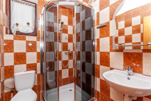 Kúpeľňa v ubytovaní Goralturist