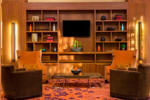 A television and/or entertainment center at Residence Inn Sacramento Downtown at Capitol Park
