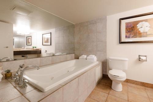 A bathroom at Chateau Jasper