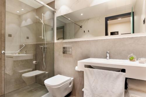 Salle de bains dans l'établissement Ronda House