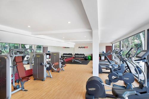 Het fitnesscentrum en/of fitnessfaciliteiten van Avani Kalutara Resort