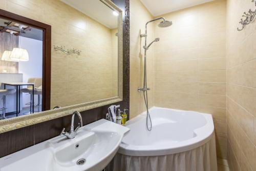 Ванная комната в Гостиница Ананас