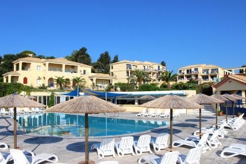 The swimming pool at or near Ionian Sea View Hotel - Corfu