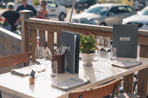 En restaurang eller annat matställe på Granö Beckasin