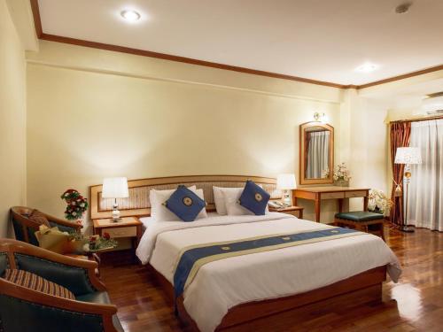 Cama o camas de una habitación en Patumwan House