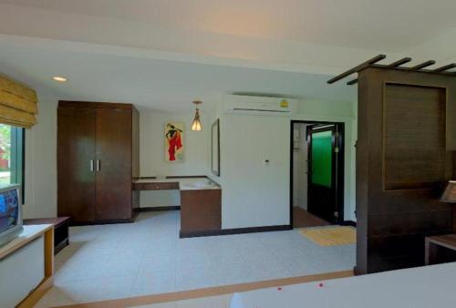 Küche/Küchenzeile in der Unterkunft Golden Bay Cottage
