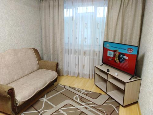 Гостиная зона в Apartment na Lenina 8