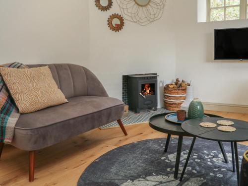 A seating area at The Old Rectory Cottage