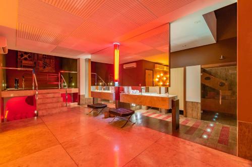O saguão ou recepção de Assahi Motel (Adult Only)