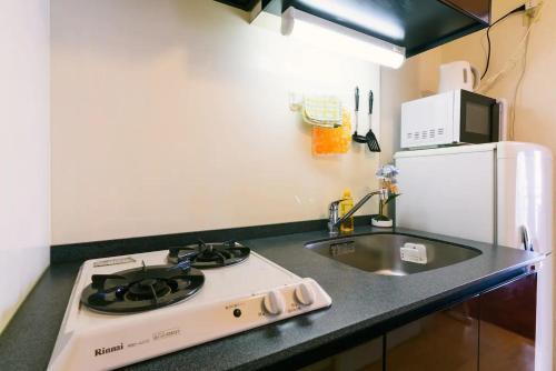 Haruyoshi Cuffe Studio / Vacation STAY 7317にあるキッチンまたは簡易キッチン