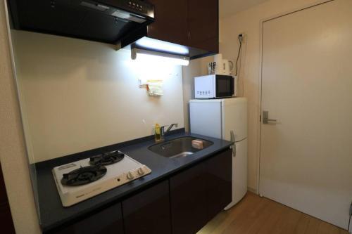 Haruyoshi Cuffe Studio / Vacation STAY 7316にあるキッチンまたは簡易キッチン