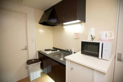 Haruyoshi Cuffe Studio / Vacation STAY 7315にあるキッチンまたは簡易キッチン