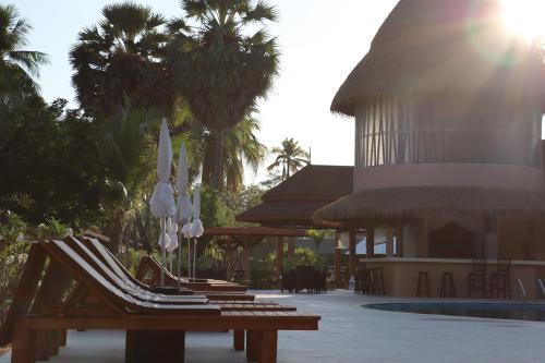 The swimming pool at or near Koh Mook Sivalai Beach Resort