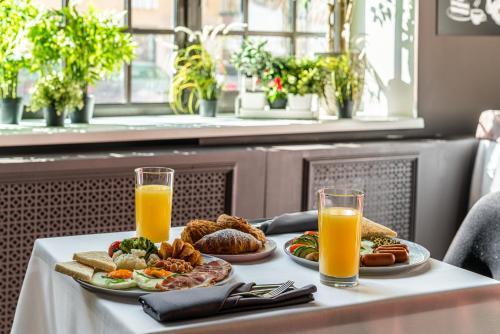 Завтрак для гостей Kravt Sadovaya Hotel