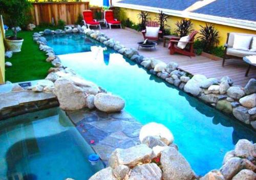 The swimming pool at or near Lg BEACH Home, POOL, Hot Tub, Close to Beaches & Downtown El Segundo Beach