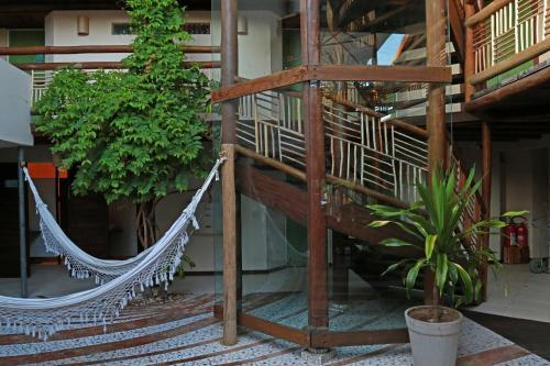 A balcony or terrace at Sobrado da Vila Hotel