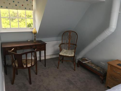 A seating area at Lockwood House