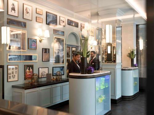 Hall ou réception de l'établissement Hotel Rotary Geneva - MGallery