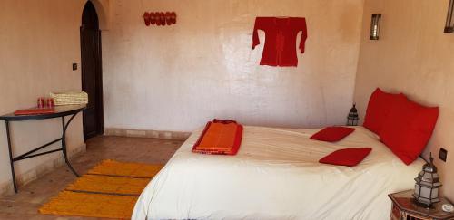 Un ou plusieurs lits dans un hébergement de l'établissement Dar Bergui