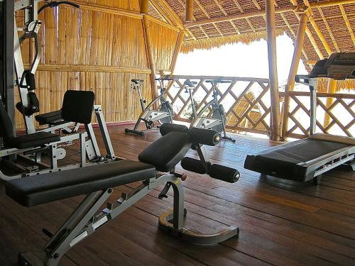 The fitness center and/or fitness facilities at Komodo Resort